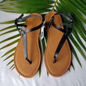 Women's T Strap Thong Sandals